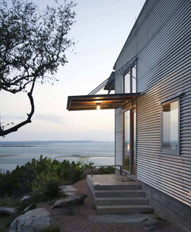 Stripped House Design: Mod Cott by Matt Lawrence