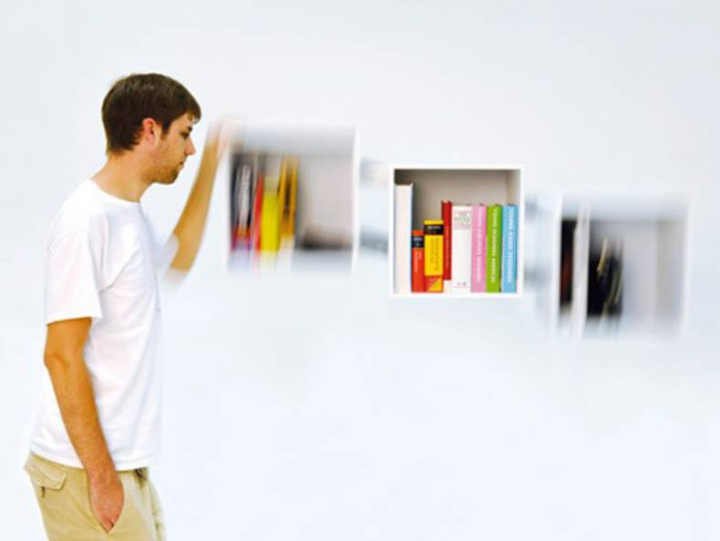 The Unusual Shelf System by Christian Kim