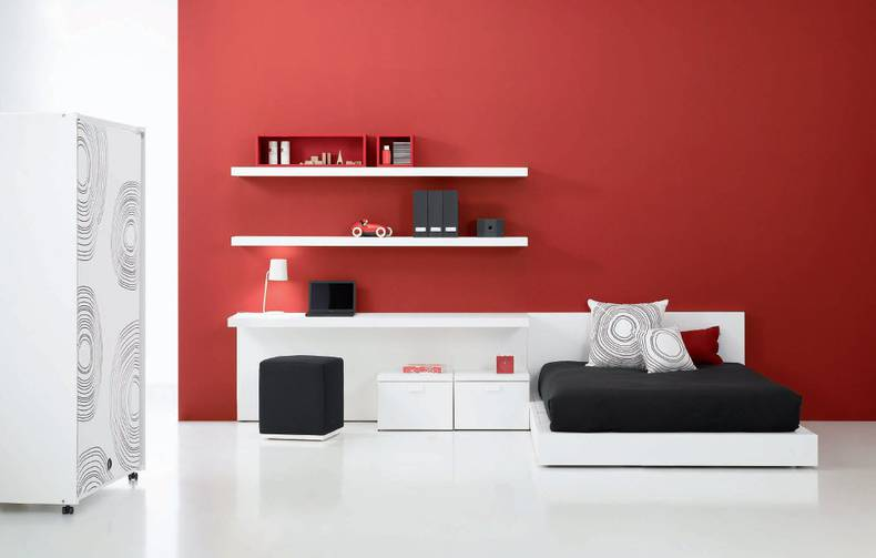 Contemporary Teen Bedroom Decor Ideas by Carlos Tiscar