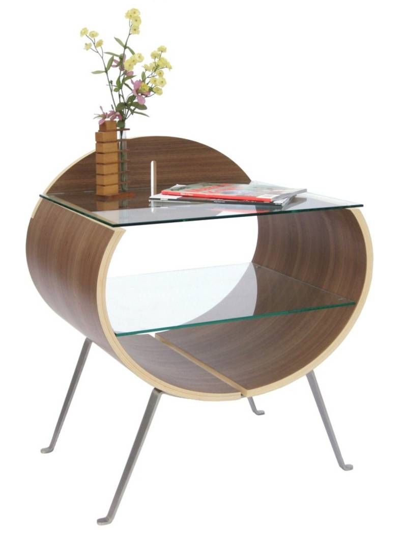 The BIG O Contemporary Bedside Table by Jackson Street Furniture