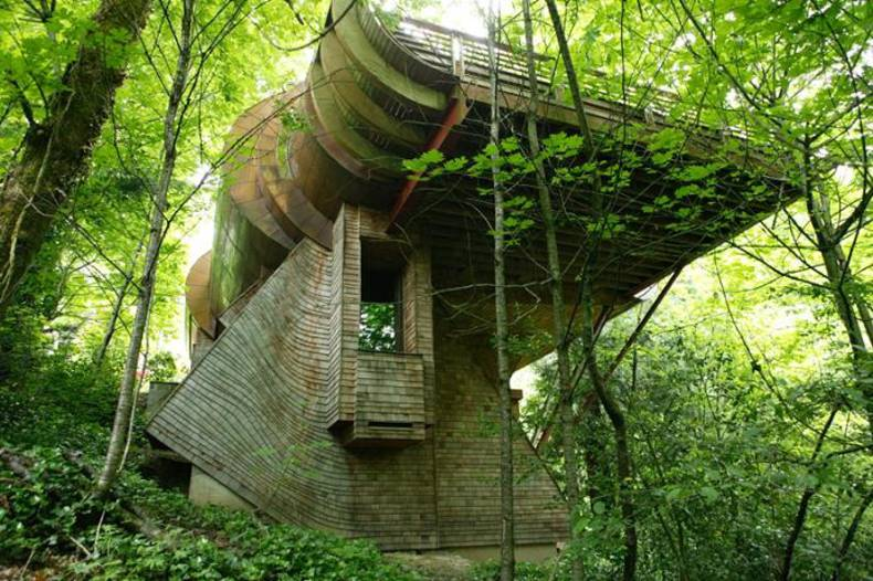 Robert Harvey Oshatz Project: Wilkinson Residence Treehouse