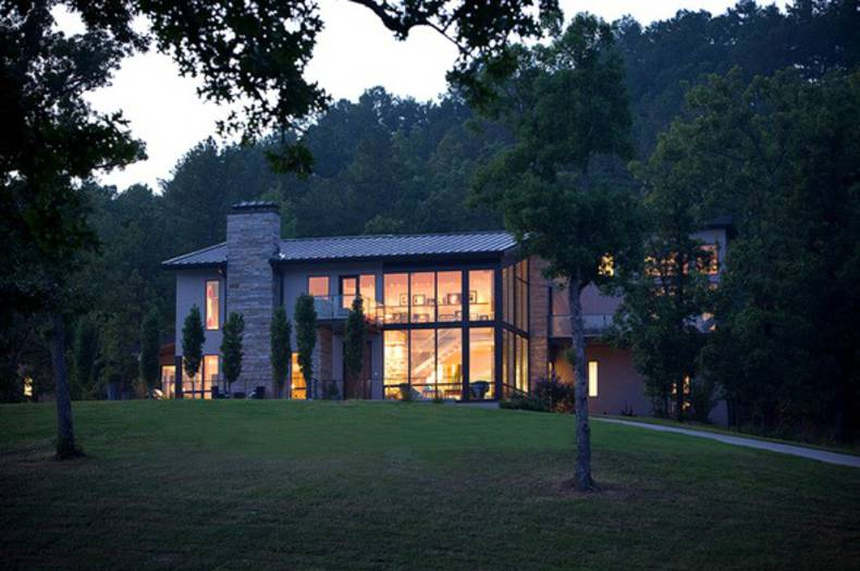 Carlton Residence in Paron, Arkansas