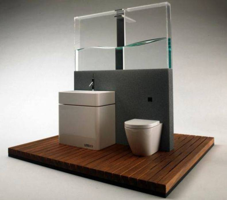 Contemporary BRS Shower System By Frank Guo