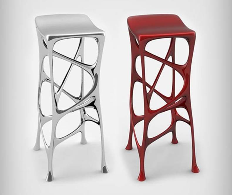 The Serous Bar Stool by Michael Stolworthy