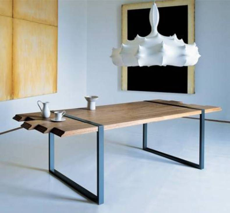 Contemporary Dining Table by Zanotta