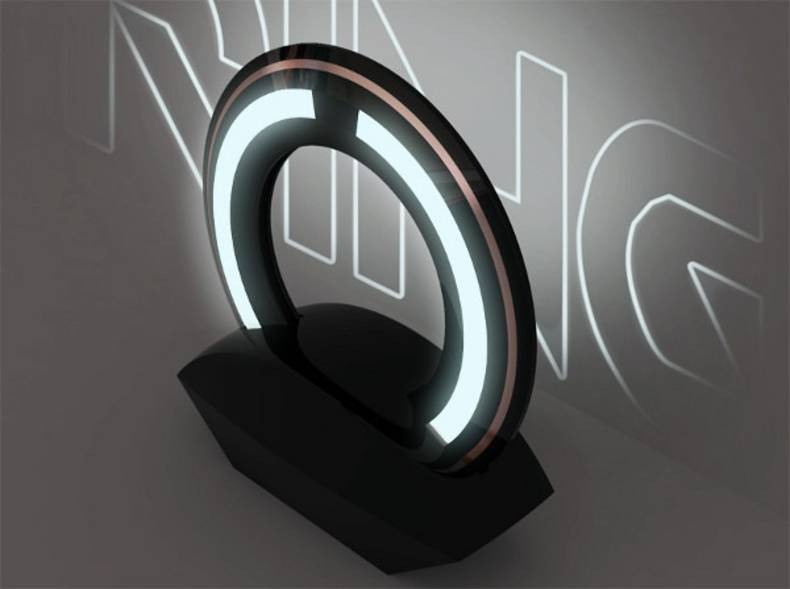 Surreal Ring lamp by Loris Bottello: Turn On The Future