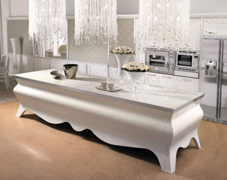 Sophisticated Papillon Kitchen Island By Brummel