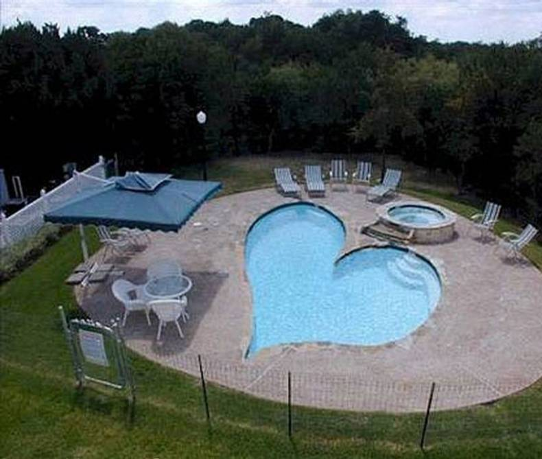 Heart-Shaped Pool: Its Owners Must Really Be In Love