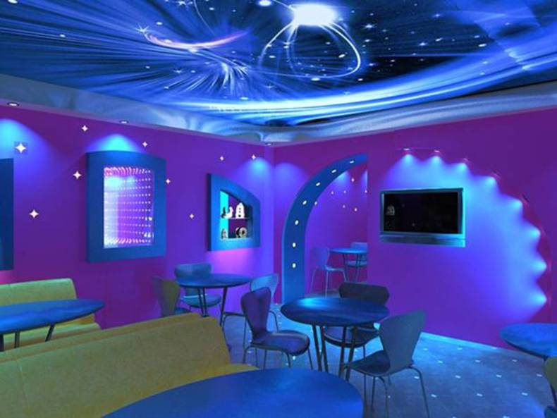 Cosmic Elements in Interior Design