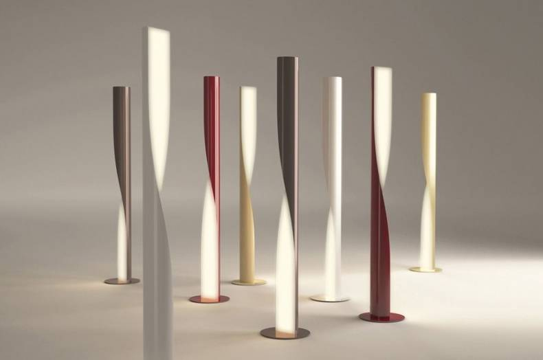 Elegant Evita Floor Lamp by AquiliAlberg for Kundalini