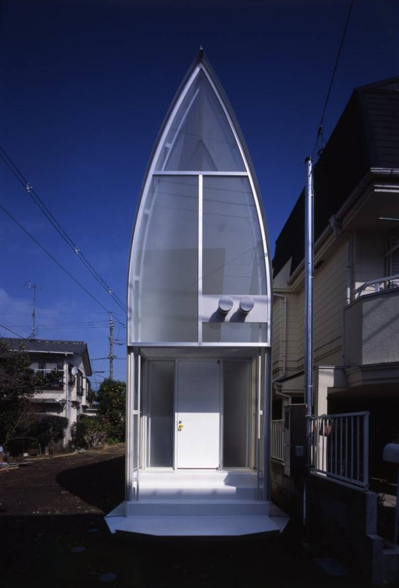 The Unique Lucky Drops House by Atelier Tekuto