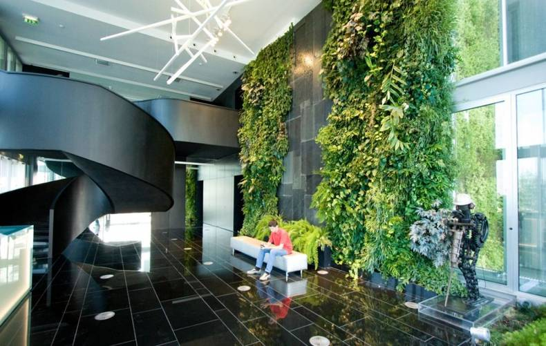 Cool Vertical Garden Design by Michael Hellgren