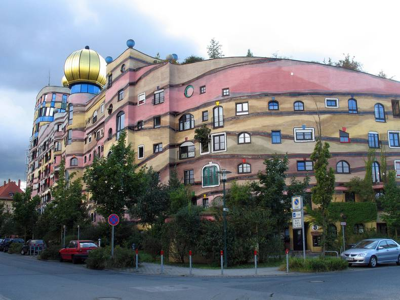 Forest Spiral by Hundertwasser – the Unique House in Germany