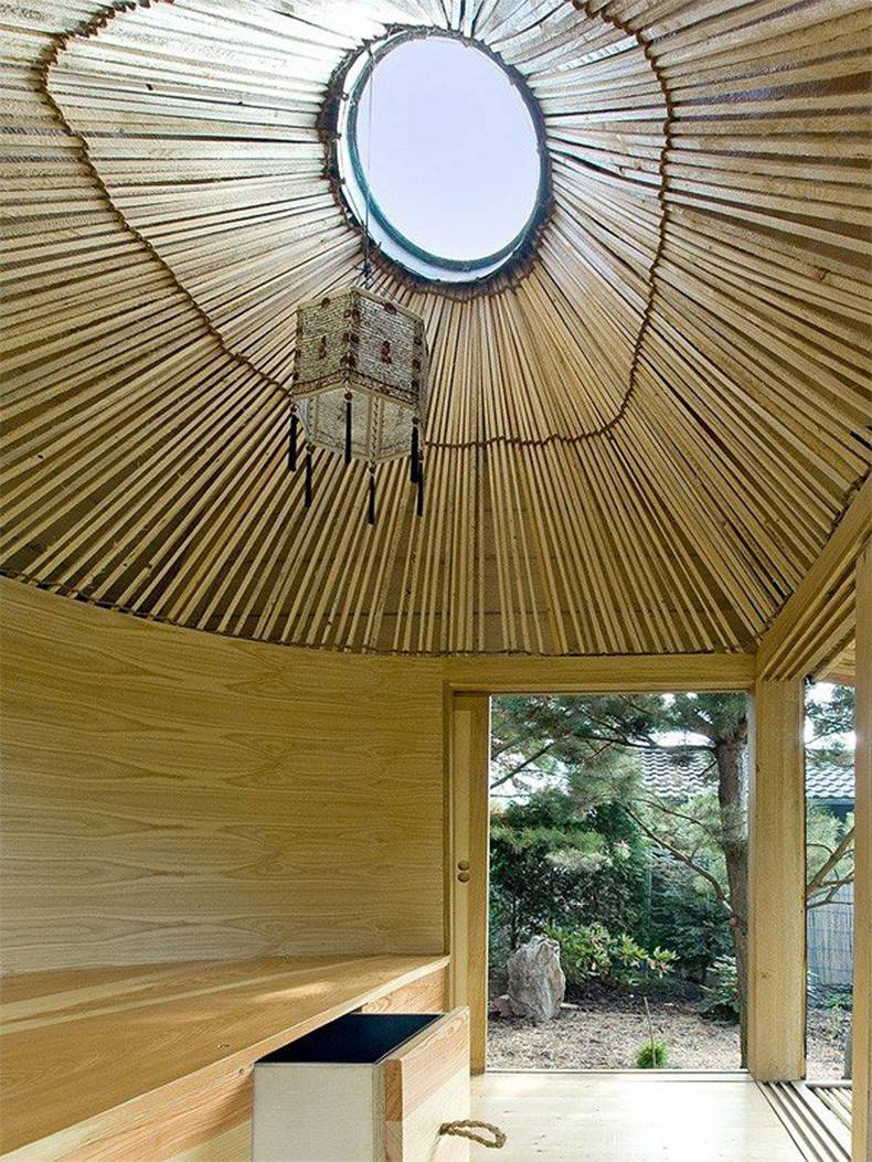 Interesting Hat Tea House by A1 Architects