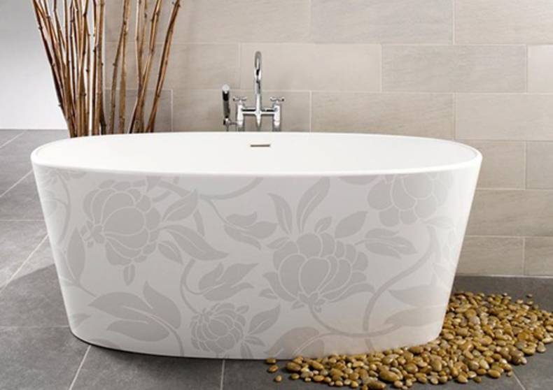 Luxury Image-In Motif Bathtub Collection by WetStyle