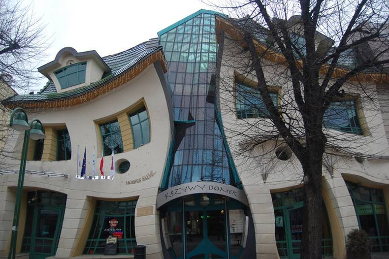 The Crooked House in Sopot, Poland: Coming from the Fairy-tale