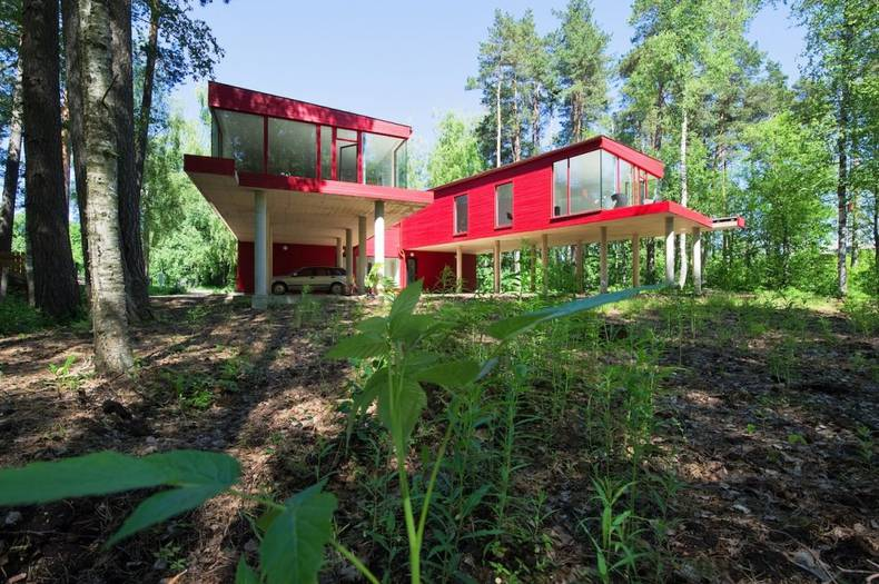 Two Sisters House in Latvia by NRJA Architecture
