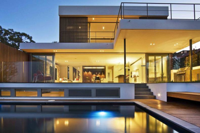 Mosman House by Corben Architects in Sydney
