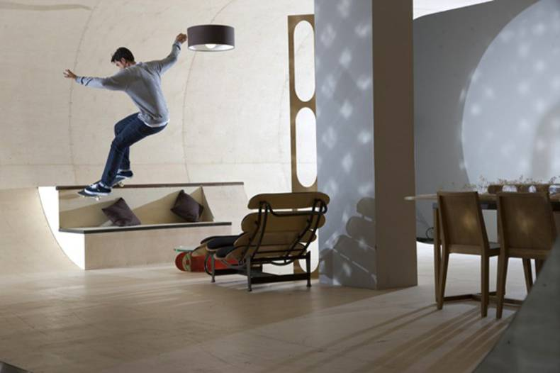 Pas House – a paradise for skateboarding lovers
