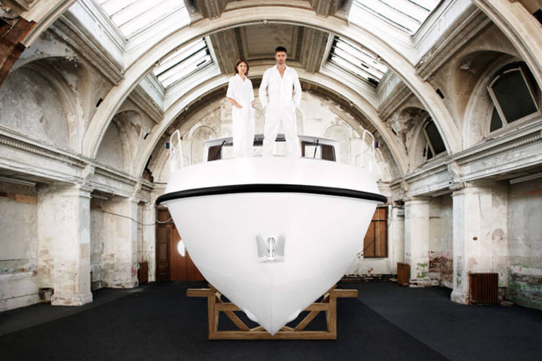 Floating Work of Art: Firmship by Studio Job