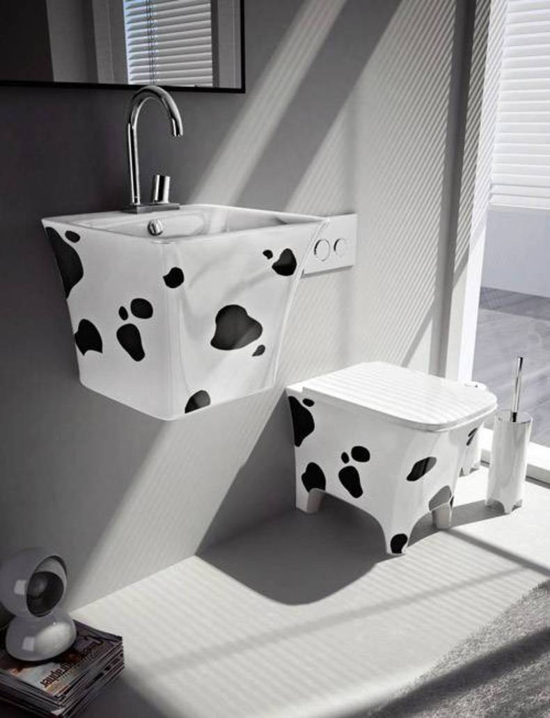 Creative and funny Sanitaryware Collection by Artceram