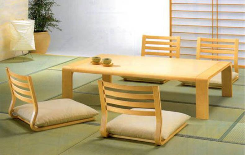 Minimalist Dining Room Furniture by Hara Design