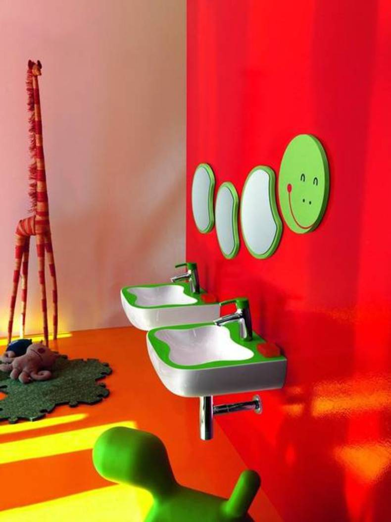 Creative Bathroom Furniture for Kids