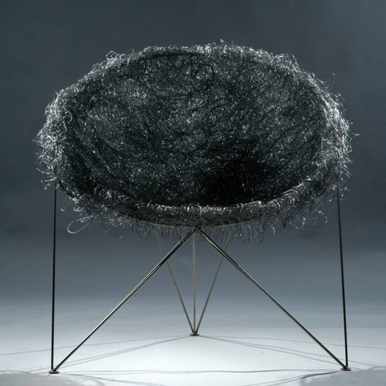 Nest Chair Design Inspired by Spring