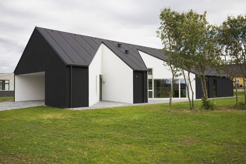 Geometric Sinus House in Denmark