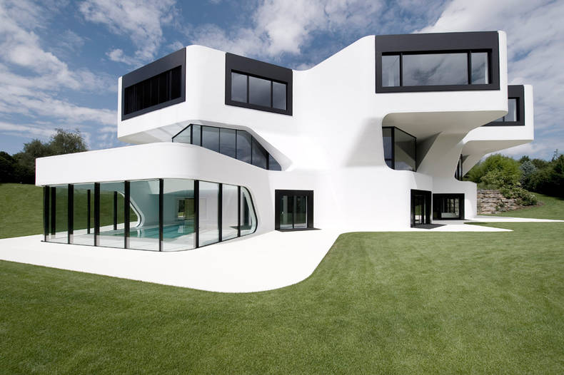 Futuristic and Modern Dupli.Casa by J. MAYER H. Architects