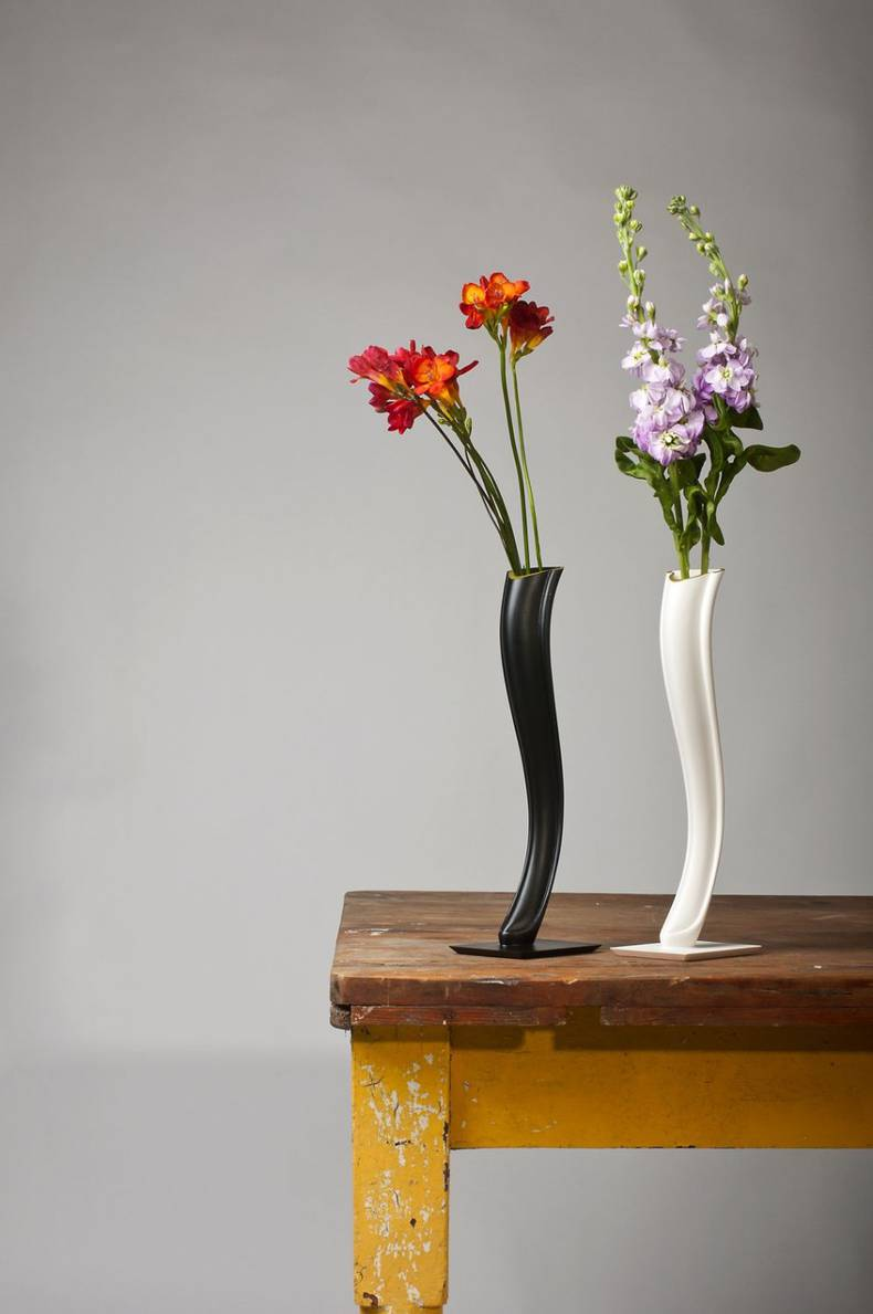 Swan Vase by Kenyon Yeh