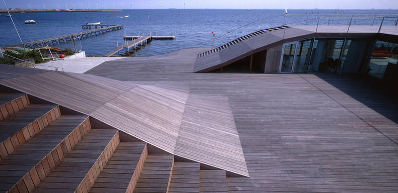 Amazing Maritime Youth House by BIG