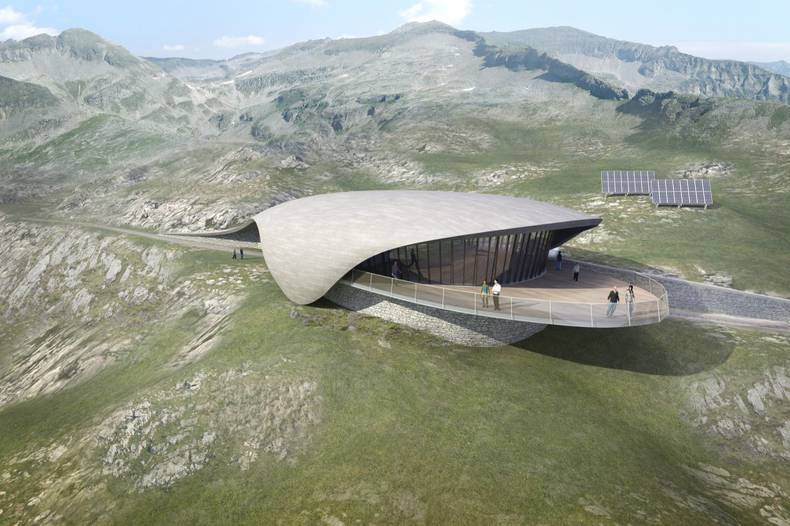 Unique Project of Top Terminal in the Austrian Alps