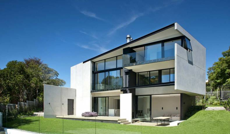 Contemporary Concrete 9 Elmstone House in New Zealand