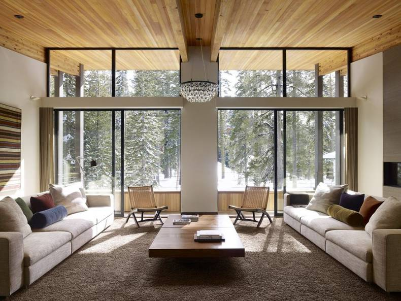 Contemporary Mountain Residence by John Maniscalco Architecture