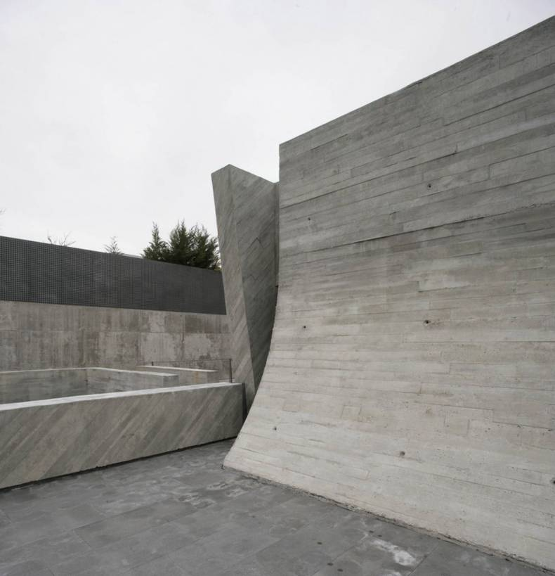 Concrete Clad Exterior: Open Box House by A-cero