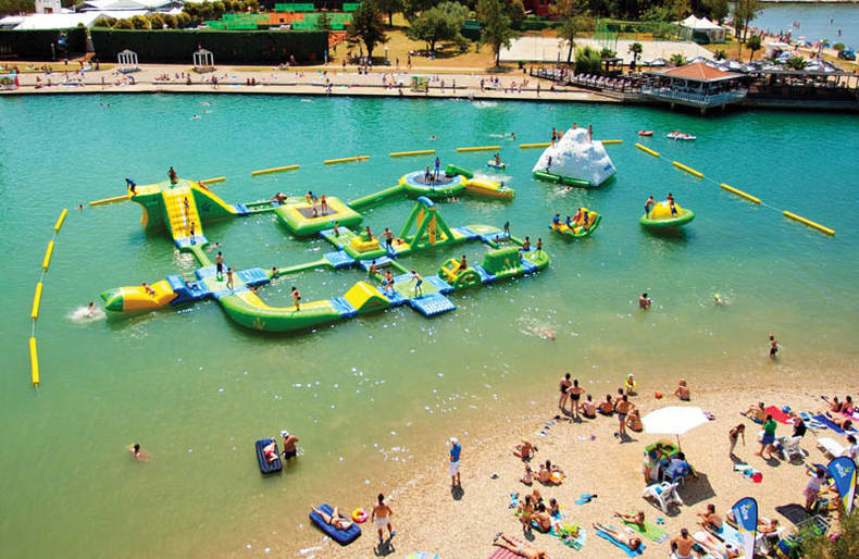 Modular Water Parks Designed by Wibit