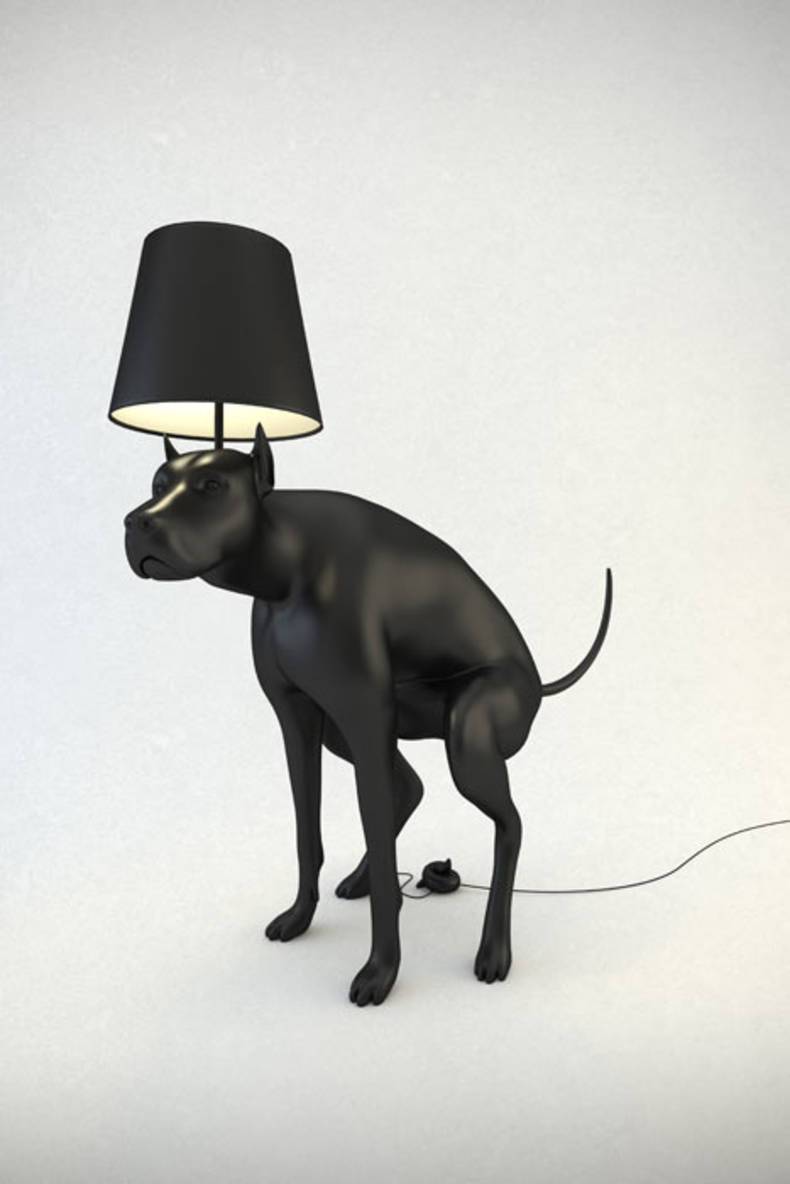 Lamps Shaped Dogs by Whatishisname