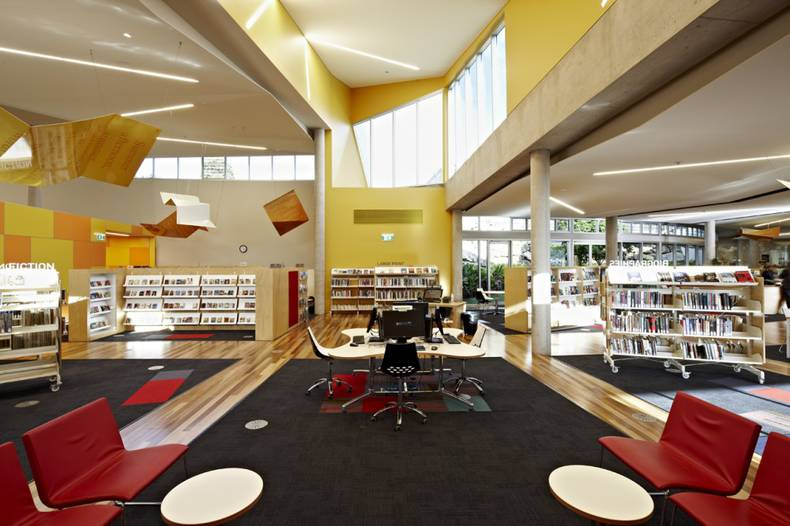 Cooroy Library and Digital Information Hub in Queensland, Australia