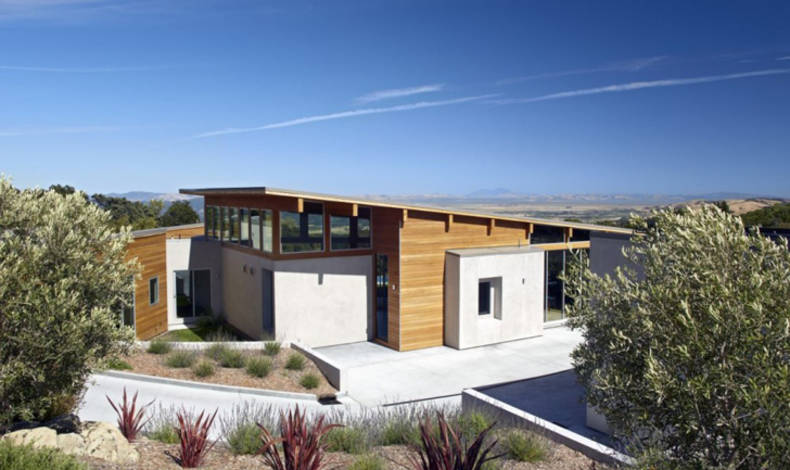 Vista Del Valle Green House by Zimmerman and Associates