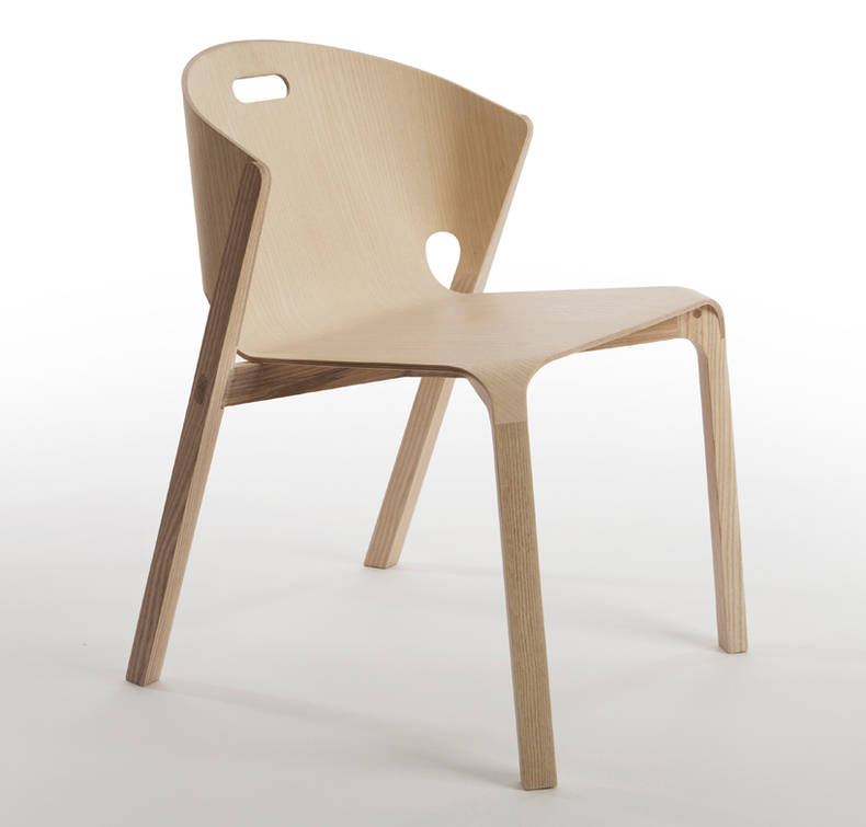 'Pelt' Chair by Benjamin Hubert