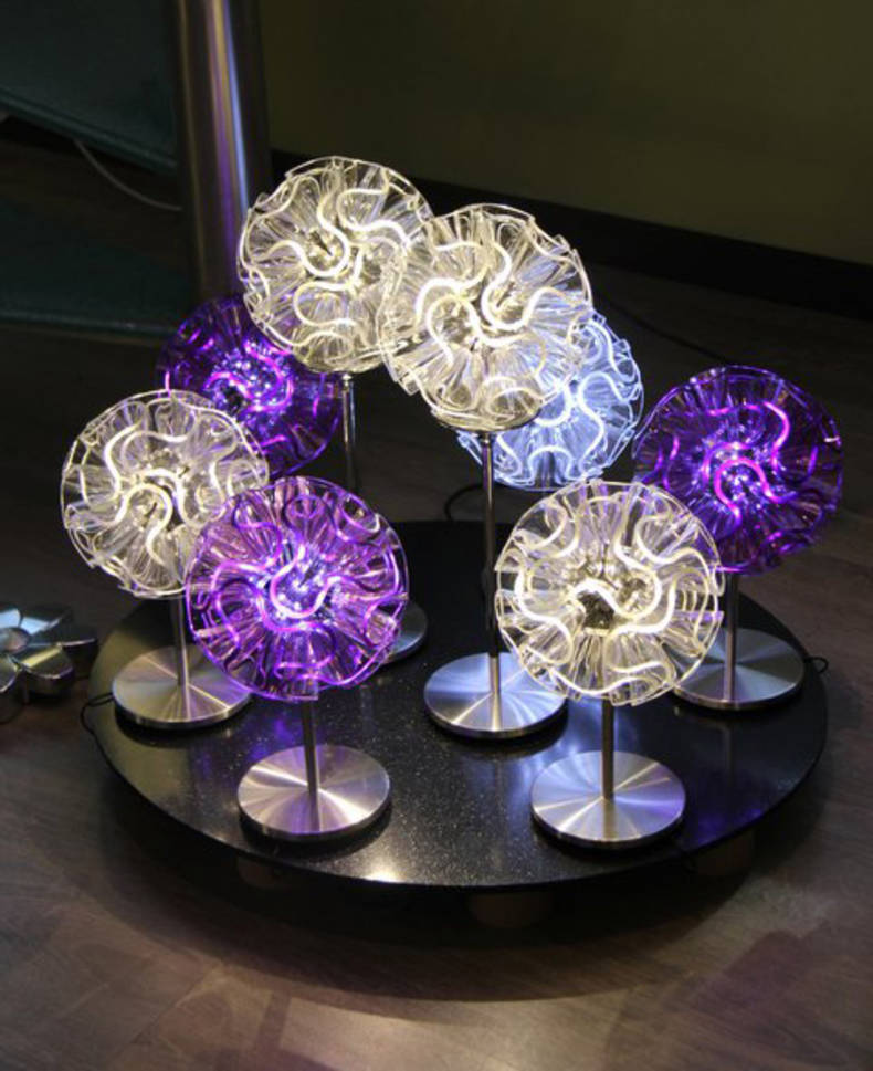 Coral LED Light by QisDesign