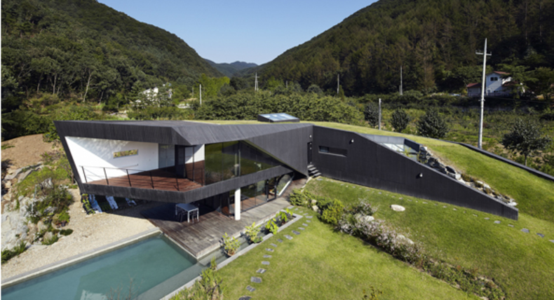 The House in Korea Created by the Architecture Firm AND