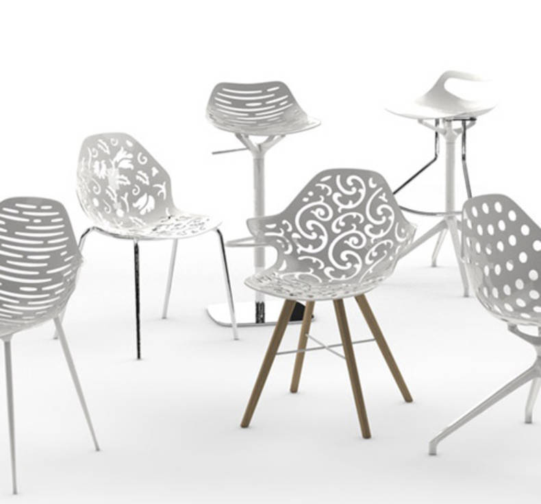 "Modular System ""Unica"" for Assembling a Chair to your Taste"