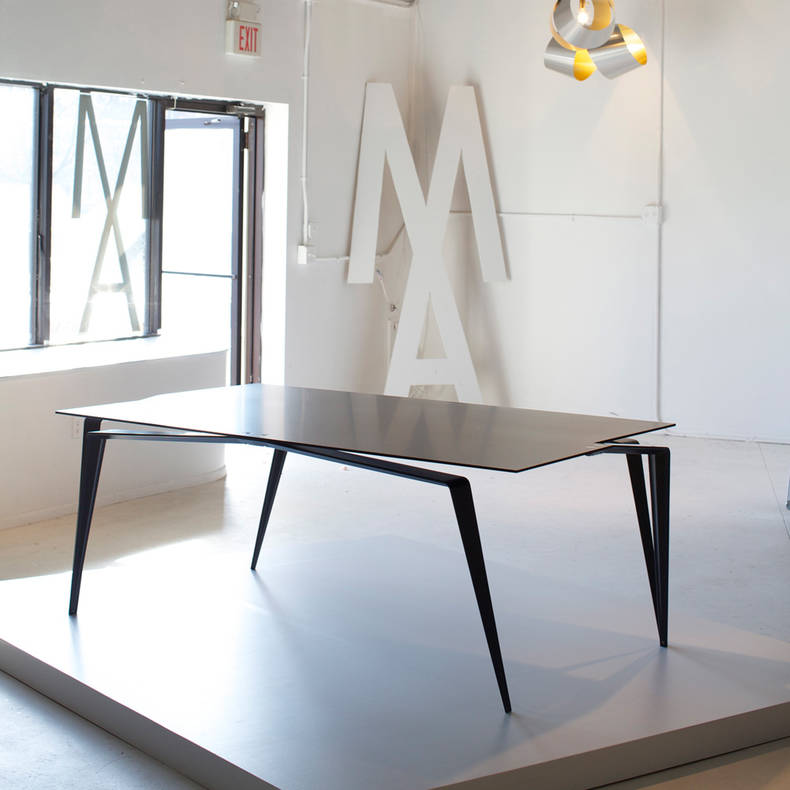 Panther Table Made of Ultralight Materials