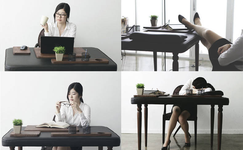 Comfortable Soft Desk by Dawoon Song