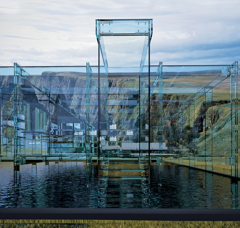 Fantastic Glass Houses by Carlo Santambrogio and Ennio Arosio