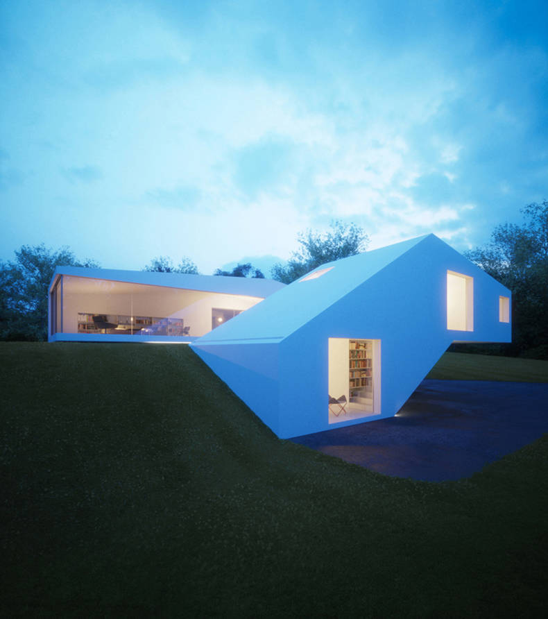 House Hafner with Area for Guests by Hornung and Jacobi Architecture