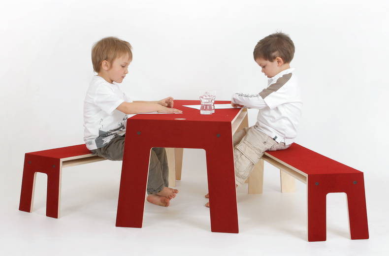 'OSKARatWORK': furniture that makes children happier, by Perludi
