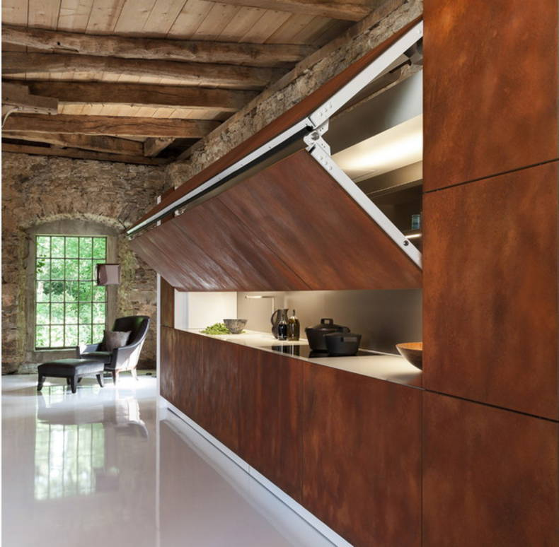 The Warendorf 'Hidden Kitchen' with Unique Features